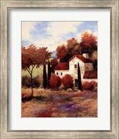Dijon Farmhouse Fine Art Print
