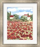 Poppy Field #1 Fine Art Print