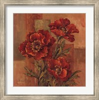 Poppies Terra Cotta Fine Art Print