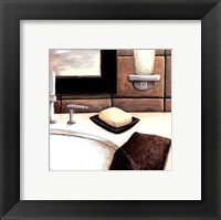 Modern Bath Elements I Fine Art Print