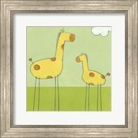 Stick-Leg Giraffe I Fine Art Print