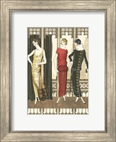 Art Deco Elegance I Fine Art Print