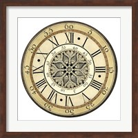 Vintage Lace Clock Giclee