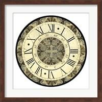 Vintage Motif Clock Giclee