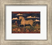 Farmhouse Horse Fine Art Print