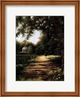 Pond House Fine Art Print