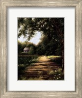Pond House Fine Art Print