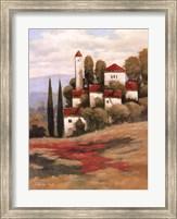 Red Roofs II Fine Art Print