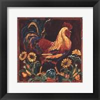 Rooster Rustic Fine Art Print