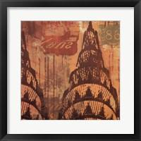 New York Chrysler Building II Fine Art Print