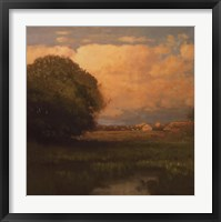 Evening Across The Marsh Fine Art Print