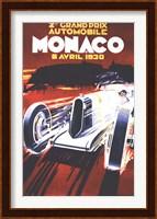 Grand Prix De Monaco 1930 Fine Art Print