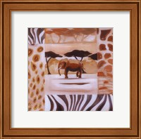 Animals of the Veld - Elephant Fine Art Print