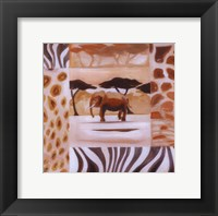 Animals of the Veld - Elephant Fine Art Print