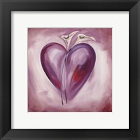 Shades of Love - Lavender Fine Art Print