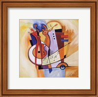 Jazz on the Square Fine Art Print