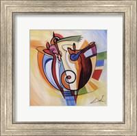 Jazz on the Circle Fine Art Print