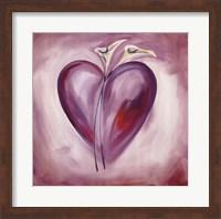 Shades of Love - Lavender Fine Art Print
