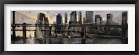 Down at East River Fine Art Print