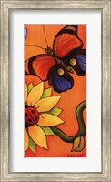 Butterfly and Ladybug Fine Art Print