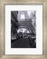 "Street View of ""La Tour Eiffel"" Fine Art Print"