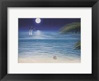 Moonlit Palms Fine Art Print