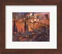 View from San Gimignano Fine Art Print