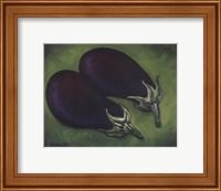 Two Eggplants Fine Art Print