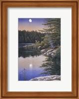 Moonlit Embers Fine Art Print