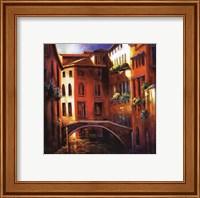 Sunset in Venice Fine Art Print