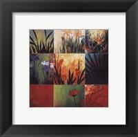 Tropical Nine Patch Fine Art Print