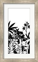 Tropical Silhouette I Giclee