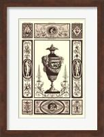 Sepia Pergolesi Urn II Fine Art Print