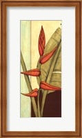 Tropical Flower Panel I Fine Art Print