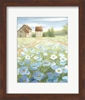 Blue Meadow Fine Art Print