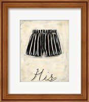 His- French Silk Fine Art Print