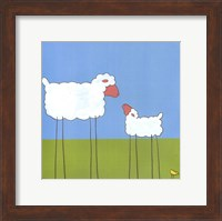 Stick-Leg Sheep I Fine Art Print