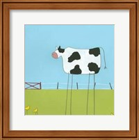Stick-Leg Cow II Fine Art Print