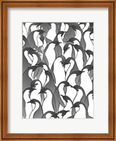 Penguin Family II Fine Art Print