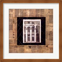 Architectural Elevation I Fine Art Print