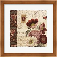 Floral Collage II Fine Art Print