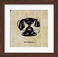 Office Telephone Fine Art Print