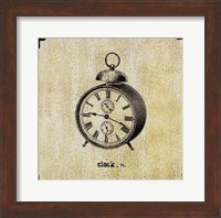 Office Clock Fine Art Print