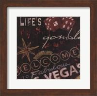 Life's A Gamble Fine Art Print