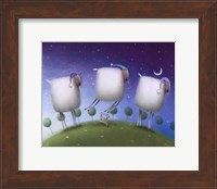 Insomniac Sheep Fine Art Print