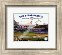 "Yankee Stadium 2008 Opening Day With Overlay ""The Final Season"" Fine Art Print"