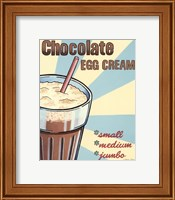 Chocolate Egg Cream Fine Art Print