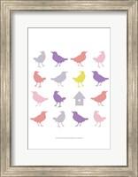 Animal Sudoku in Pink I Fine Art Print