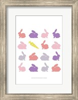 Animal Sudoku in Pink II Fine Art Print