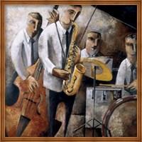 Jazz En Vivo Fine Art Print